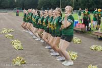 0086 Band-Cheer-Crowd Football v Belle-Chr 090712