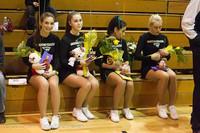 5289 Varsity Basketball and Winter Cheer Seniors Night 2012