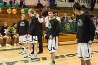 5303 Varsity Basketball and Winter Cheer Seniors Night 2012