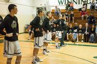 5305 Varsity Basketball and Winter Cheer Seniors Night 2012