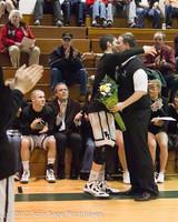 5315 Varsity Basketball and Winter Cheer Seniors Night 2012