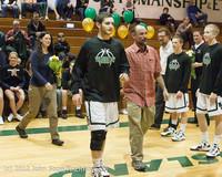 5320 Varsity Basketball and Winter Cheer Seniors Night 2012