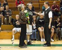 5329 Varsity Basketball and Winter Cheer Seniors Night 2012