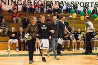 5336 Varsity Basketball and Winter Cheer Seniors Night 2012