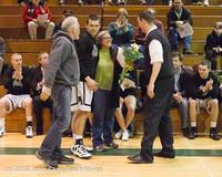 5355 Varsity Basketball and Winter Cheer Seniors Night 2012