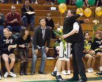 5365 Varsity Basketball and Winter Cheer Seniors Night 2012