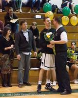 5369 Varsity Basketball and Winter Cheer Seniors Night 2012