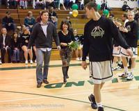 5376 Varsity Basketball and Winter Cheer Seniors Night 2012