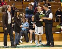 5385 Varsity Basketball and Winter Cheer Seniors Night 2012