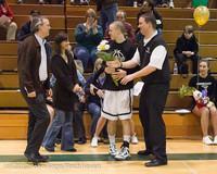 5388 Varsity Basketball and Winter Cheer Seniors Night 2012