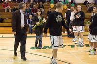 5401 Varsity Basketball and Winter Cheer Seniors Night 2012