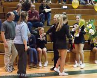 5410 Varsity Basketball and Winter Cheer Seniors Night 2012