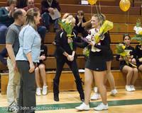 5416 Varsity Basketball and Winter Cheer Seniors Night 2012