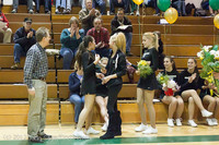 5433 Varsity Basketball and Winter Cheer Seniors Night 2012