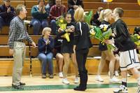 5443 Varsity Basketball and Winter Cheer Seniors Night 2012