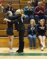 5457 Varsity Basketball and Winter Cheer Seniors Night 2012