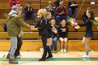 5467 Varsity Basketball and Winter Cheer Seniors Night 2012