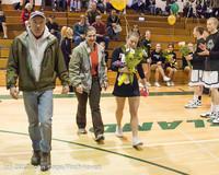 5490 Varsity Basketball and Winter Cheer Seniors Night 2012