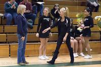 5494 Varsity Basketball and Winter Cheer Seniors Night 2012