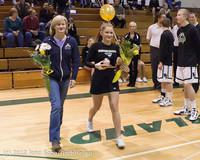 5522 Varsity Basketball and Winter Cheer Seniors Night 2012