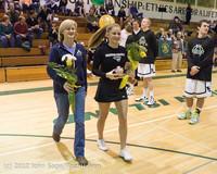 5526 Varsity Basketball and Winter Cheer Seniors Night 2012