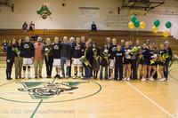 5589 Varsity Basketball and Winter Cheer Seniors Night 2012