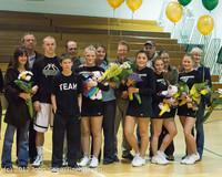 5605 Varsity Basketball and Winter Cheer Seniors Night 2012