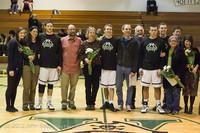 5616 Varsity Basketball and Winter Cheer Seniors Night 2012