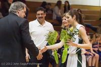 7866 Varsity Basketball and Winter Cheer Seniors Night 2012