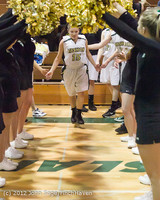 7952 Varsity Basketball and Winter Cheer Seniors Night 2012