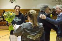 8002 Varsity Basketball and Winter Cheer Seniors Night 2012