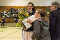 8008 Varsity Basketball and Winter Cheer Seniors Night 2012