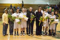 8054 Varsity Basketball and Winter Cheer Seniors Night 2012