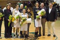 8058 Varsity Basketball and Winter Cheer Seniors Night 2012