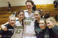 9694 Varsity Basketball and Winter Cheer Seniors Night 2012