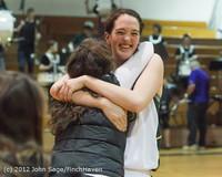 9713 Varsity Basketball and Winter Cheer Seniors Night 2012