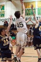 7007 Boys JV Basketball v AubAdvent 121410