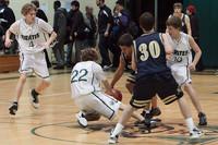 7136 Boys JV Basketball v AubAdvent 121410