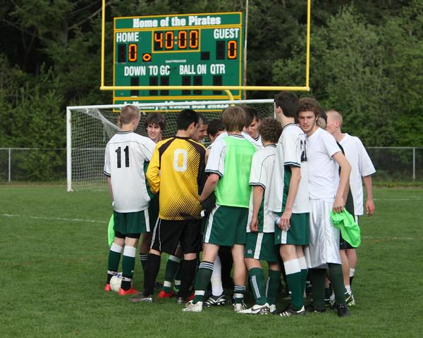 5228 Boys Varsity Soccer v Charles Wright 042210