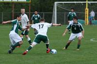 5493 Boys Varsity Soccer v Charles Wright 042210