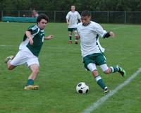 5697 Boys Varsity Soccer v Charles Wright 042210
