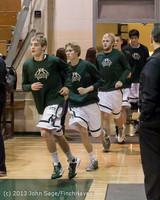 6616 Boys Varsity Basketball v Crosspoint 120112