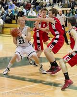 7479 Boys Varsity Basketball v Crosspoint 120112