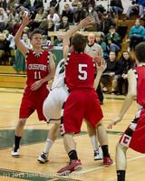 7485 Boys Varsity Basketball v Crosspoint 120112