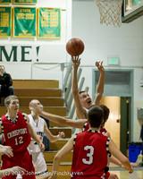 7511 Boys Varsity Basketball v Crosspoint 120112
