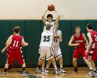 7573 Boys Varsity Basketball v Crosspoint 120112
