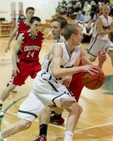 7583 Boys Varsity Basketball v Crosspoint 120112