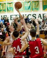 7604 Boys Varsity Basketball v Crosspoint 120112