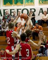 7612 Boys Varsity Basketball v Crosspoint 120112
