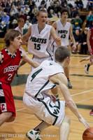 7674 Boys Varsity Basketball v Crosspoint 120112